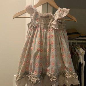 Adorable mudpie dress